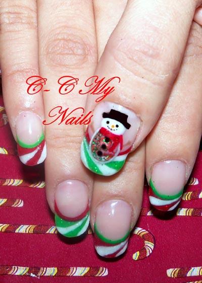 Christmas Nail Art Designs -8