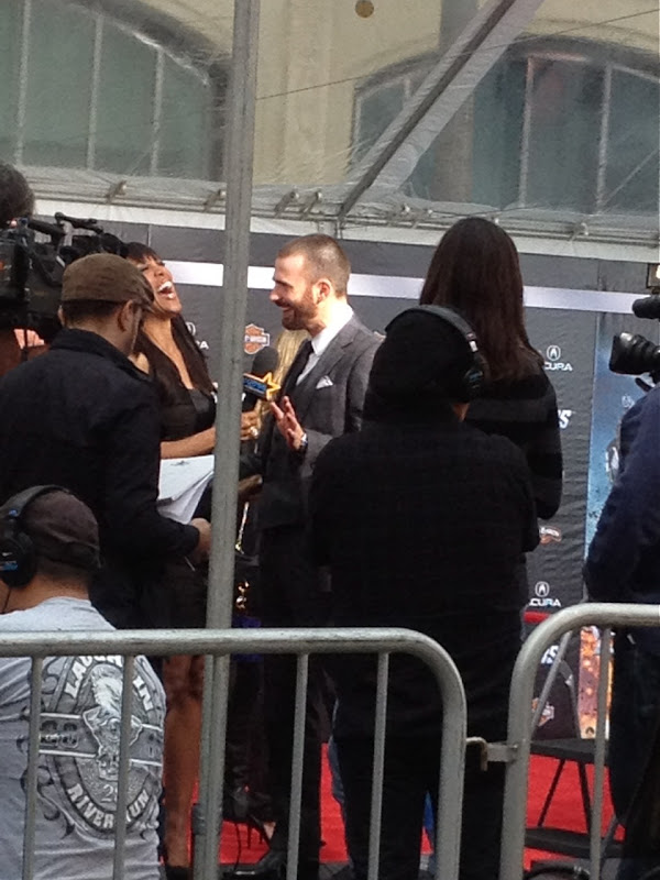 Chris Evans Avengers World Premiere