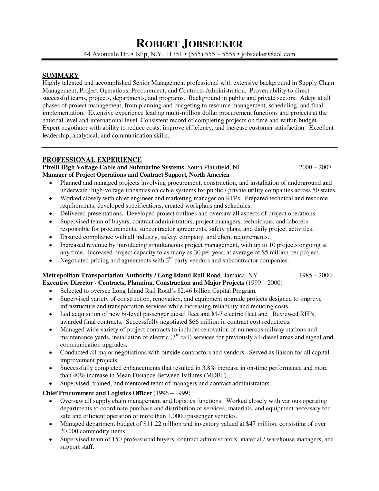 program manager resume good examples sampletips program manager resume good examples