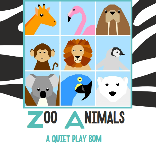 Quiet Play Zoo BOM