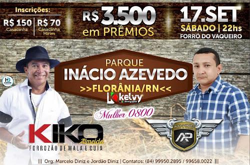 PARQUE INÁCIO AZEVEDO EM FLORÂNIA/RN