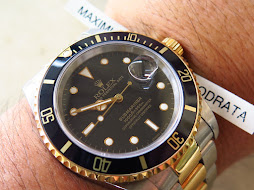 ROLEX SUBMARINER DATE TWO TONE BLACK DIAL - ROLEX 16613 - SERIE X YEAR 1992 - FULLSET BOX AND PAPER