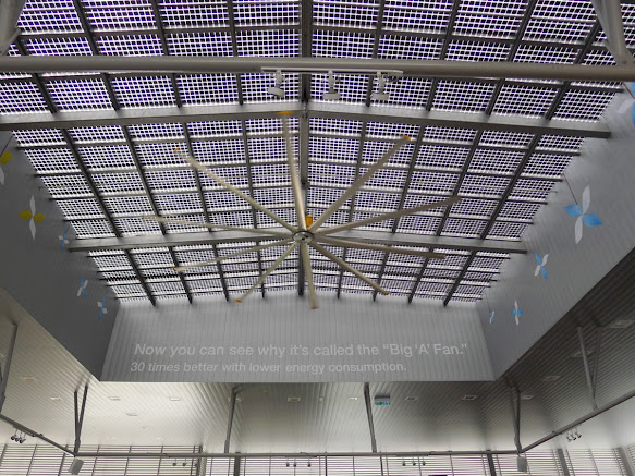 Big 'A' fan is 30 times better with lower energy consumption. Find out why.. www.bigassfans.com