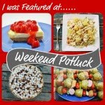 Featured on Weekend Potluck