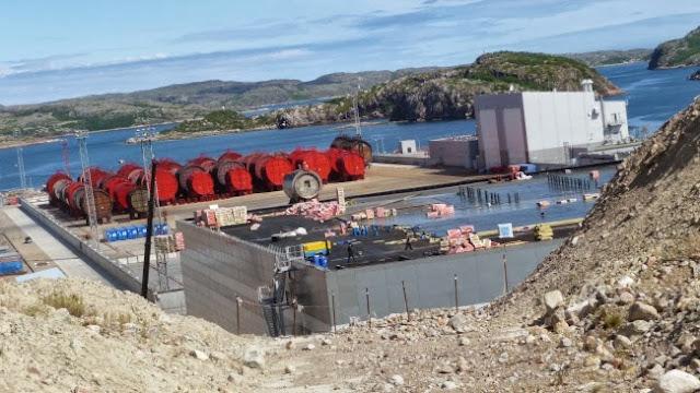 Saida Bay radioactive waste complex