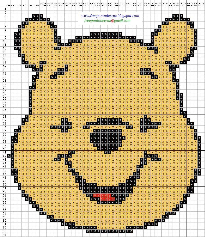Winnie The Pooh - Cross Stitch Punto de cruz
