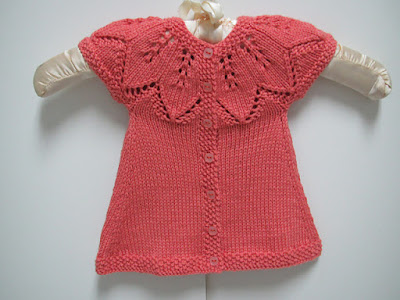 Autumn Leaves Baby Cardigan