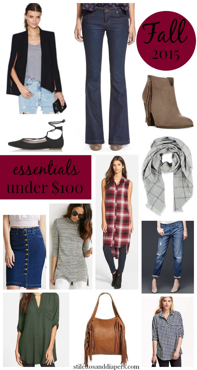 Fall Essentials 2015, Fall Must-Haves, Fall Fashion