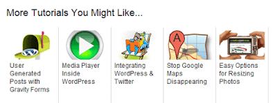 Related Post dengan Icon Gambar Keren dan Responsive Banget