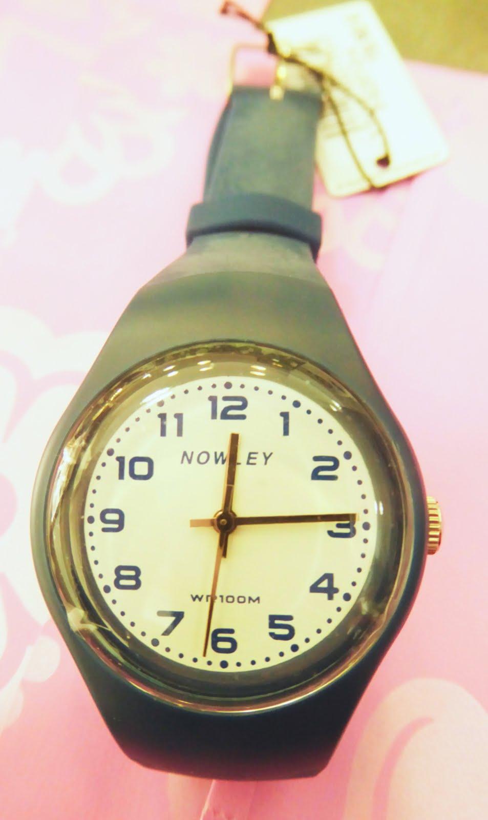 Reloj Nowley, sumergible,