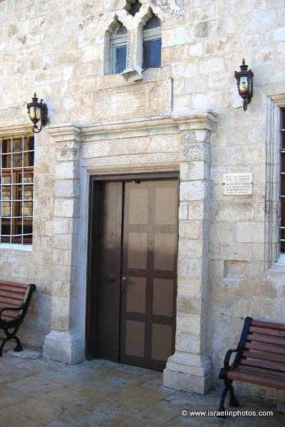 The Ari Ashkenazi Synagogue was Built in the sixteenth century, the synagogue is named after Rabbi Isaac Luria, (1534-1572)