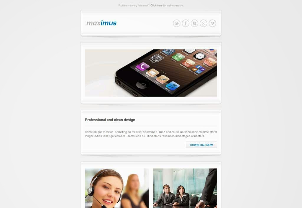 Maximus – Responsive Email Template