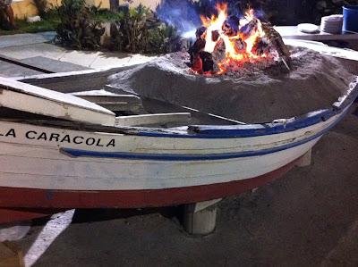 Espetos+de+sardinas 30 años después en Fuengirola   30 Jahre später in Fuengirola an der Costa del Sol