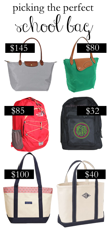College Prep: Picking the Perfect School Bag