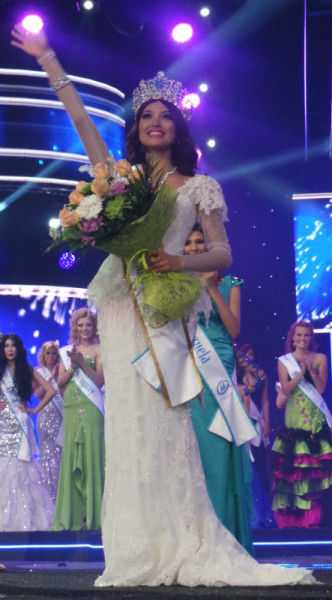 Miss Supranational 2013 winner Mutya Johanna Datul Philippines