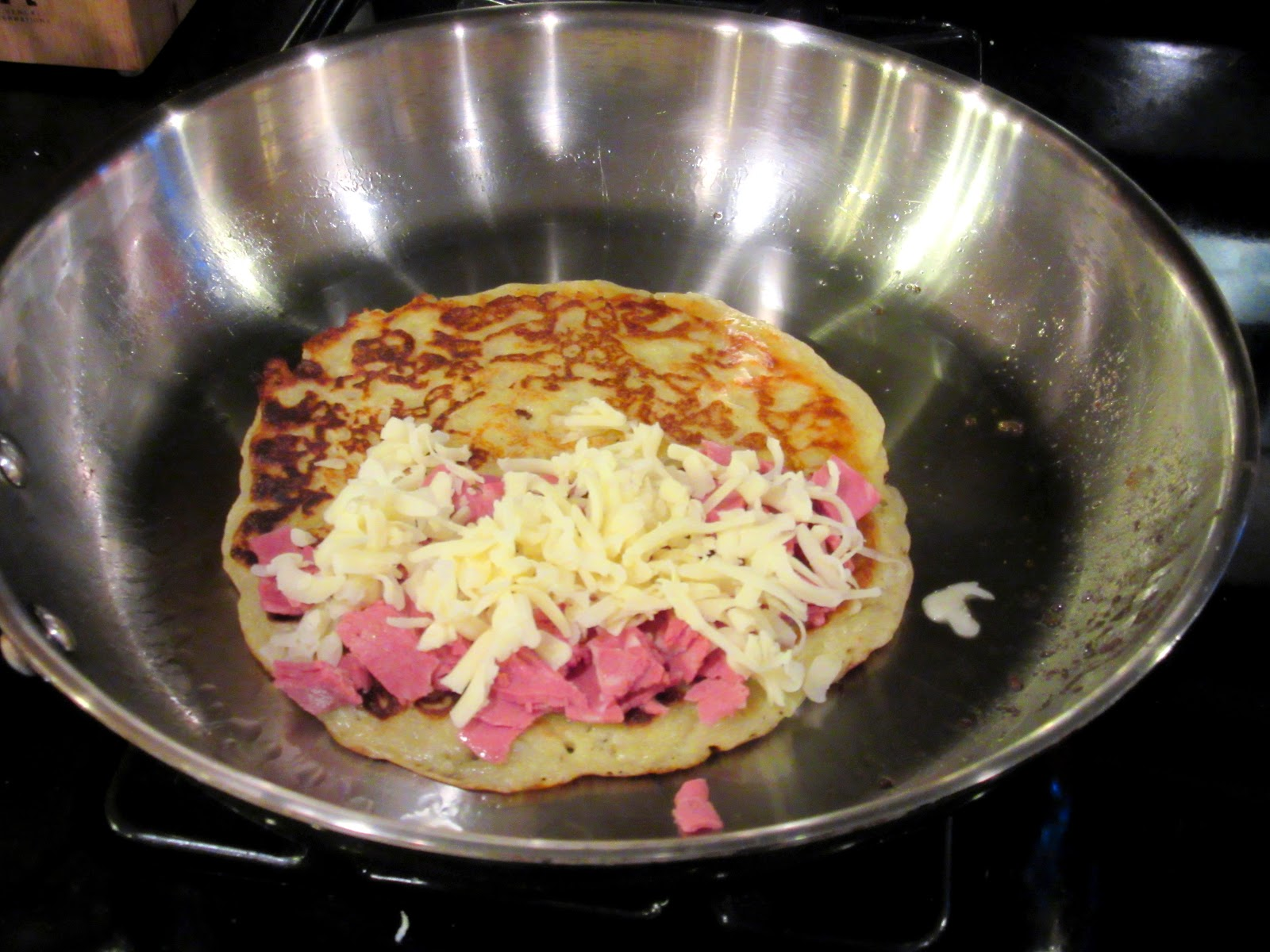Stuffed Irish Corned Beef Boxty Recipe. Kudos Kitchen by Renee