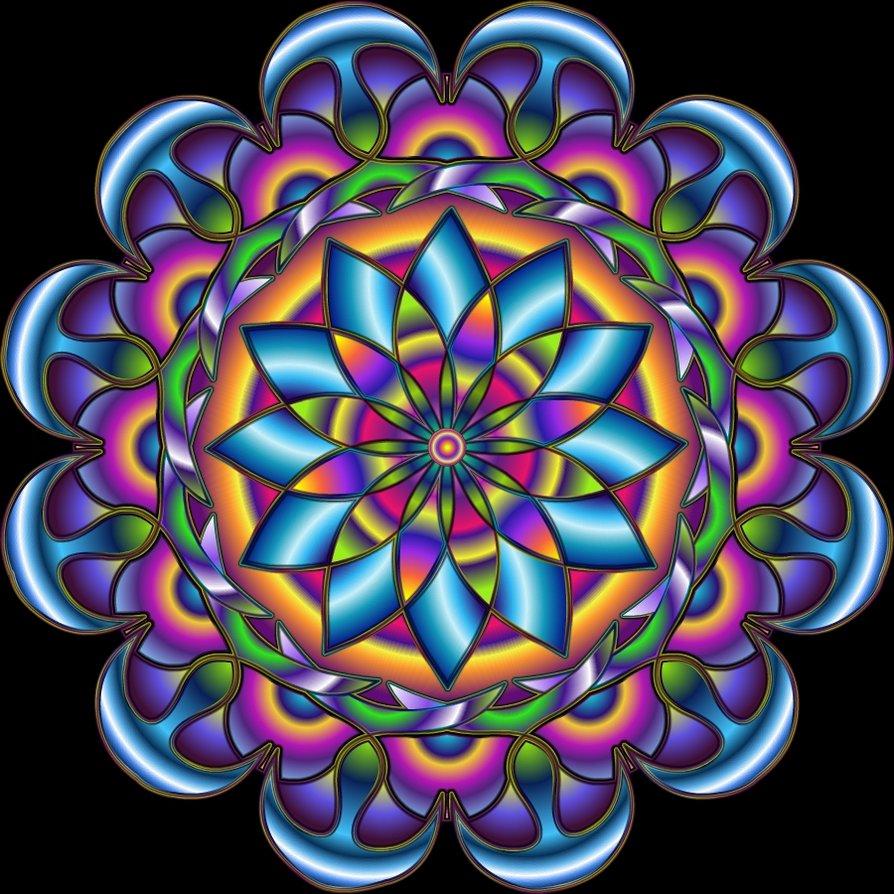 Estudiandoespiritualidad que es un mandala - Colores para la concentracion ...