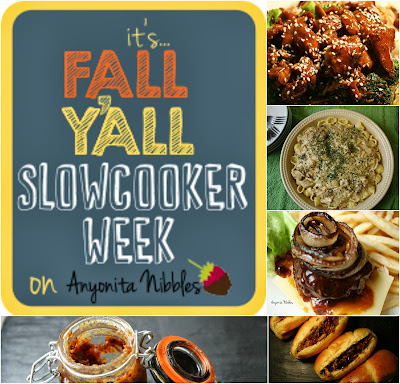 It's Fall Yall Slowcooker Week on www.anyonita-nibbles.com