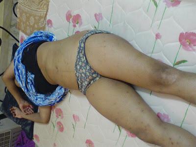 Sleeping desi girl hidden with you
