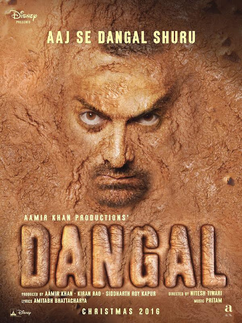 A Very Muddy Aamir Khan in Dangal 's First Look - Bollywood News