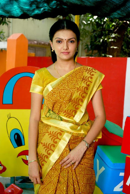 Actress Saranya mohan Saree Photos