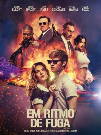 Em Ritmo de Fuga Torrent – BluRay 720p/1080p Dual Áudio