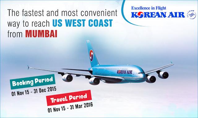 Korean Air the Fastest From Mumbai / aksharonline.com akshar infocom