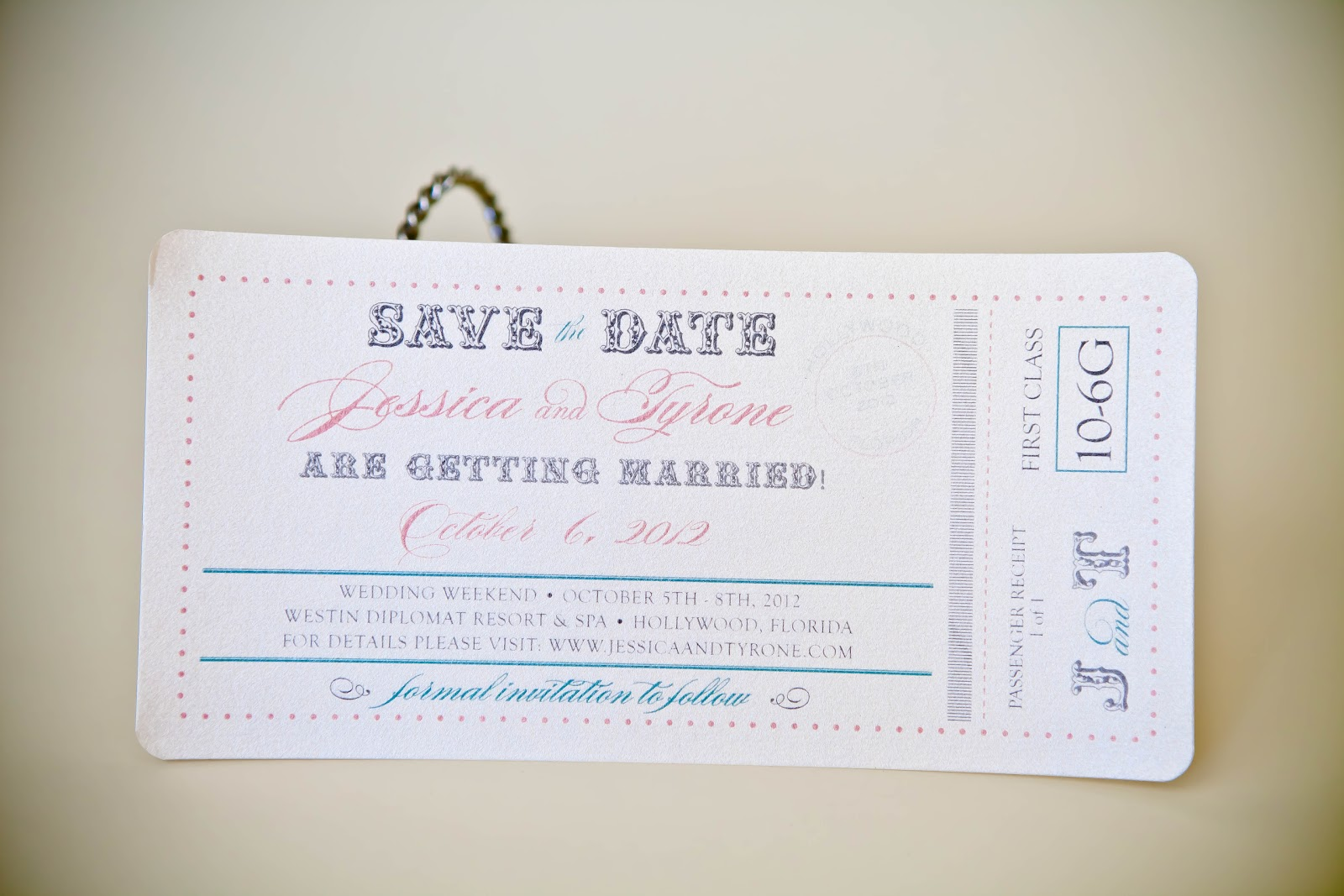 Passport Save the Date Kindly RSVP Designs Blog