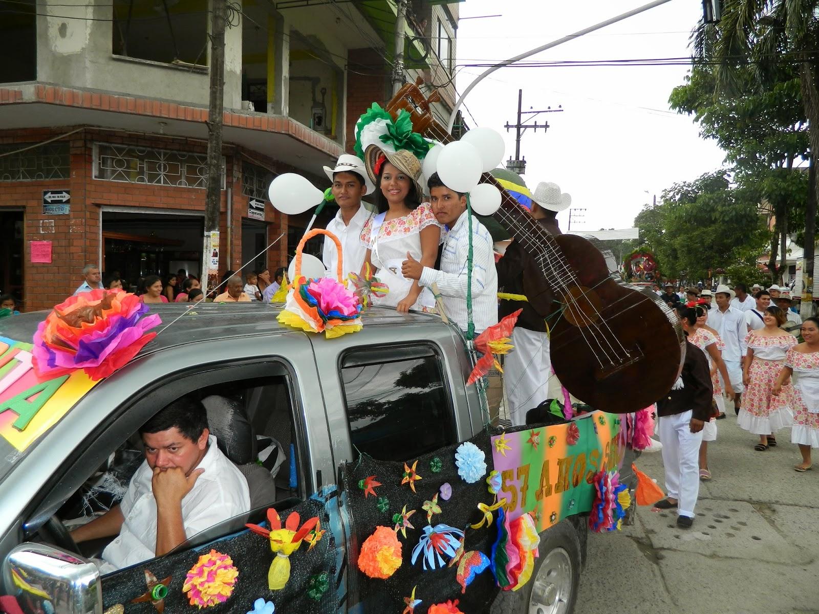 La cultura de los departamentos del Huila,Tolima, Cundinamarca, Chocó