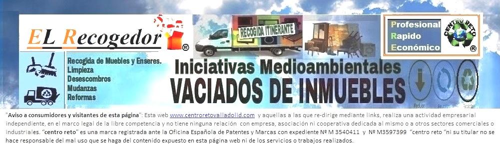 RECOGIDA DE MUEBLES Y ENSERES VALLADOLID