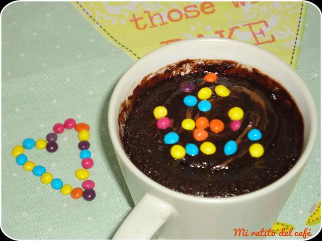 Mug cake de nocilla