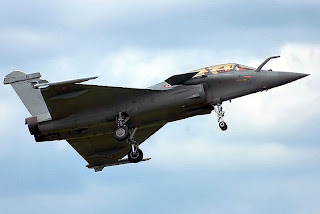 aviones de combate Rafaele Dassault