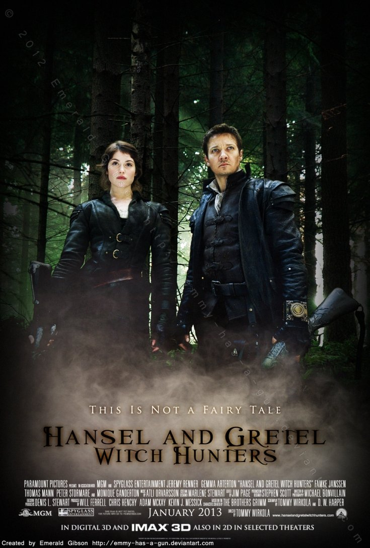 witches from hansel and gretel witch hunters