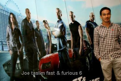 Joe Taslim Fast & Furious 6