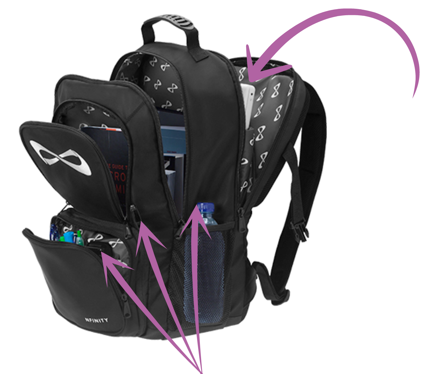 Nfinity Cheerleading Backpack
