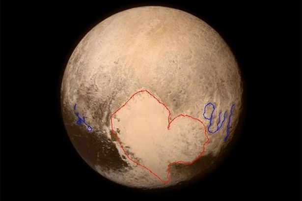 Heboh, Ada penampakan Tulisan  Allah dan Muhammad di Pluto, Anda percaya?