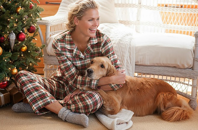 llbean-plaid-pajamas