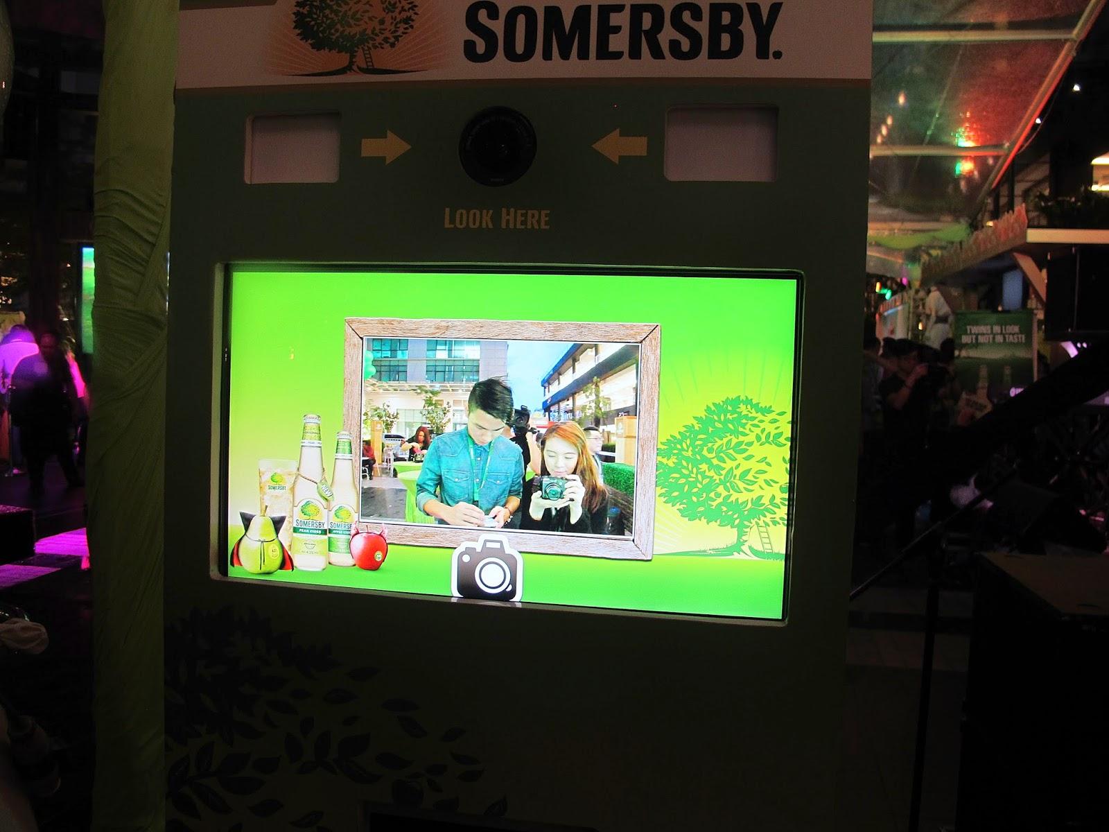 green photobooth