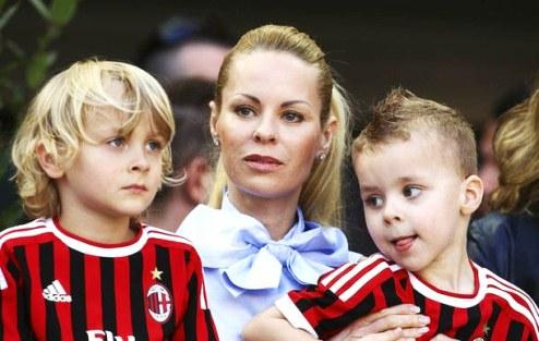 Football: Zlatan Ibrahimovic Wife Helena Seger 2013