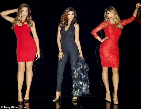 HOT! Kim Kardarshian And Sisters Release Official Photos For London Clothing Line (LOOK)