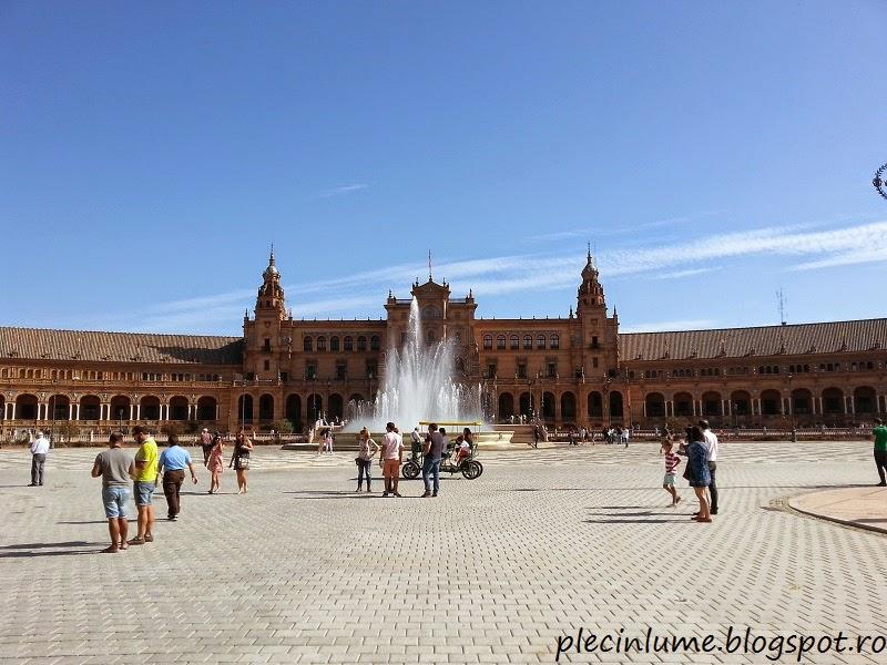 Plaza di Spania, Sevilla