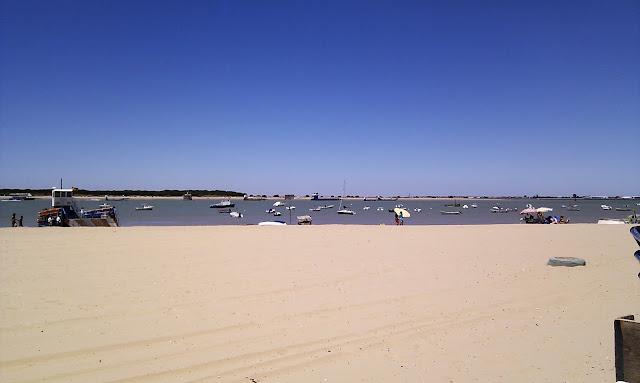 Playa de Bajo de Guía en Sanlúcar de Barrameda