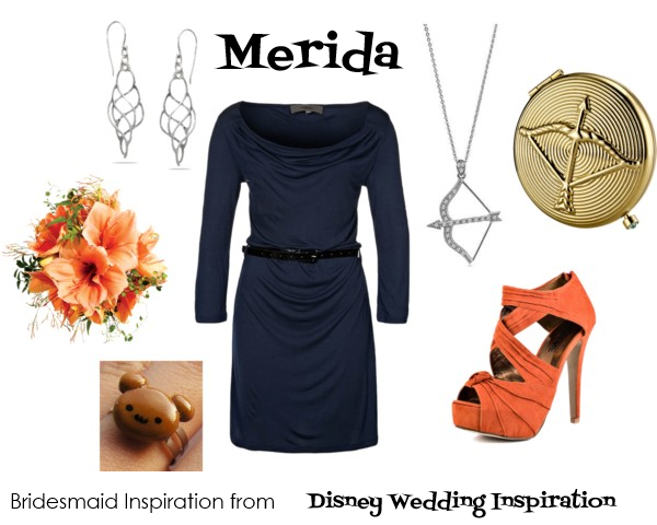 Bridesmaid Inspiration - Merida