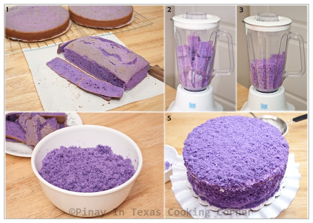 Filipino ube cake roll recipe