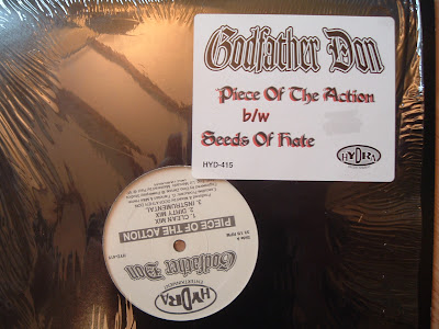 Godfather Don ‎– Piece Of The Action / Seeds Of Hate (VLS) (1997) (VBR)