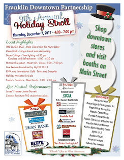 2017 Holiday Stroll December 7