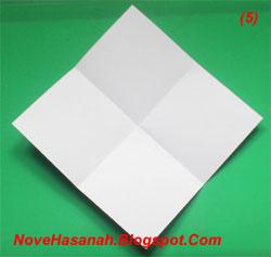 bagaimana cara membuat origami anjing