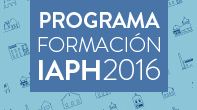 Programa 2016 - Web IAPH