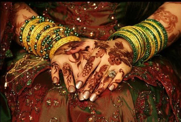 Mehndi Party Pictures : Henna bridal wedding mehndi design party