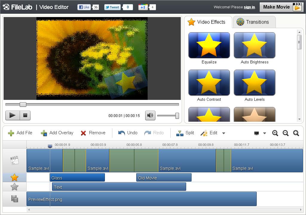 Editor De Video Online Rotar